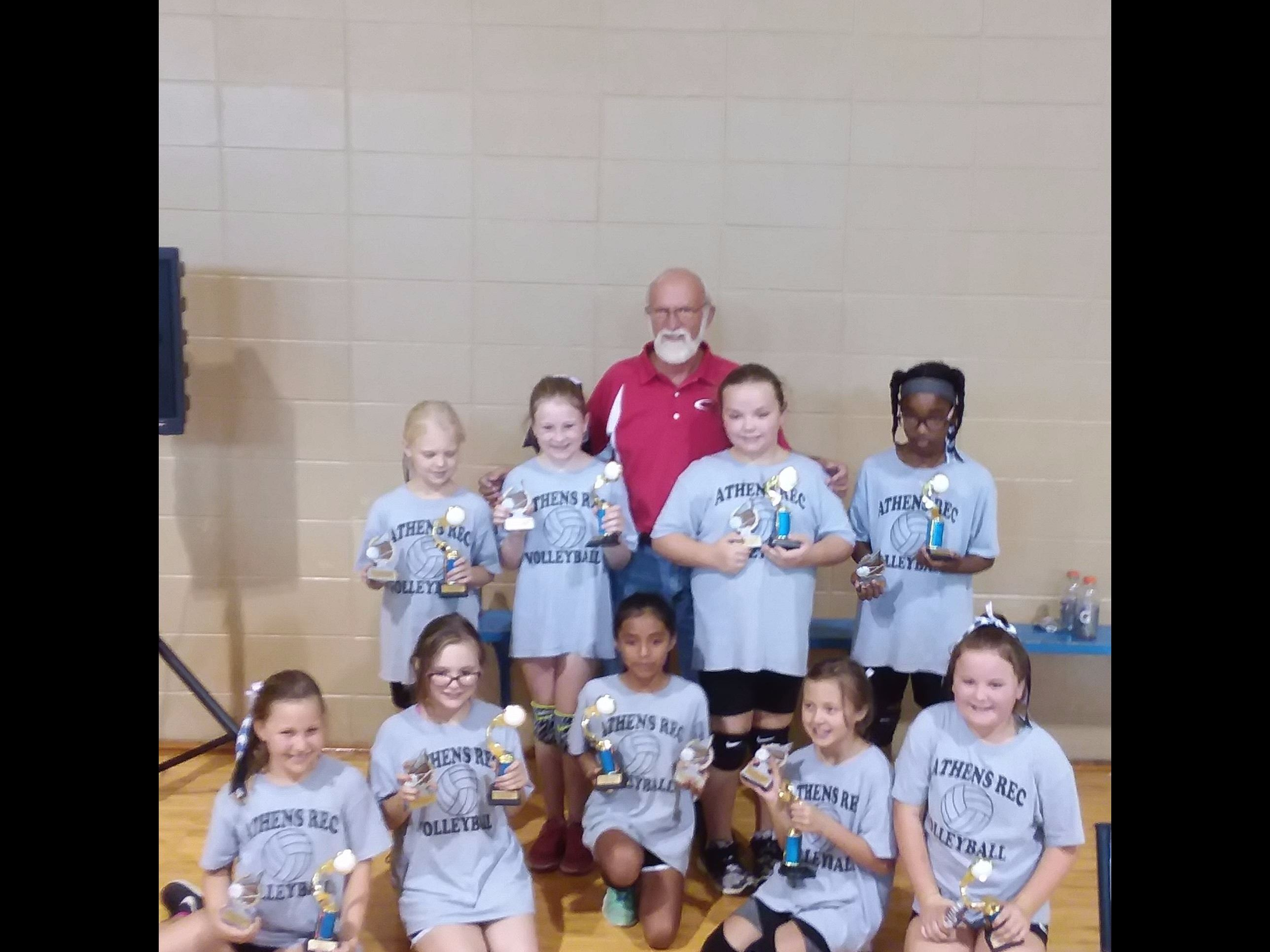 2017 8-10 Youth Volleyball Tournament Champs-Gray