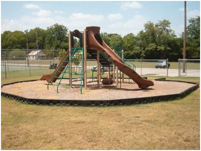 Lincoln-Bridgeforth Park view of playground equipment